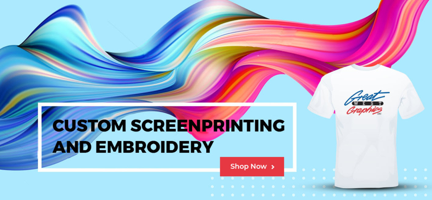Use Custom Screen Printing to Increase Your Visibility