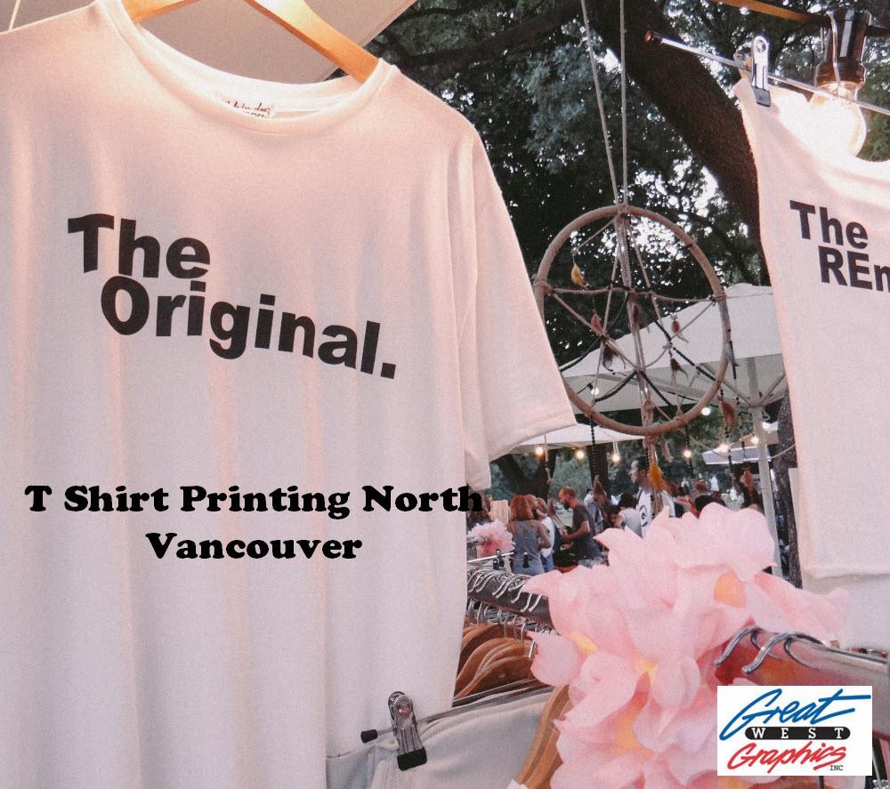 T Shirt Printing North Vancouver