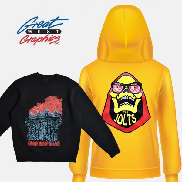 Custom Hoodies Selection