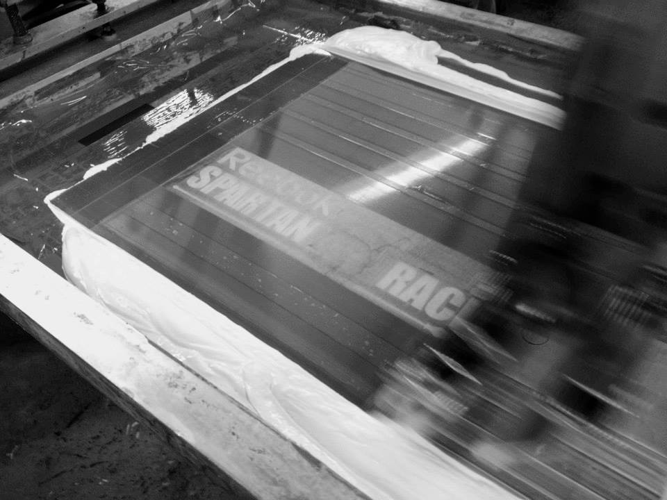 custom screen printingf
